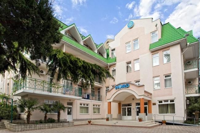 Крым  Партенит   Отель Норд