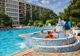 Туристско-оздоровительный комплекс  с 3 -х   разовым  питанием  - Крым Евпатория  отель с бассейном