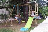 Крым Партенит  гостевой дом детская  площадка