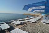 пляж  Пансионат в Алуште