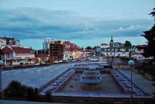 площадь Советская центр города