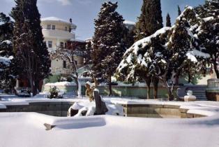 фото Алушта набережная зима