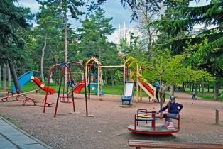 детская площадка города Алушта